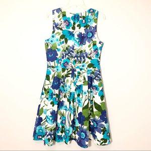 Eliza J Dresses - Eliza J Floral Fit and Flare Dress Size 14